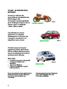 SSP 032 ŠKODA FABIA - Informations techniques