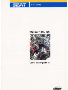 SSP 034 Moteur 1.9 L TDi