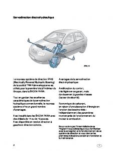 SSP 034 ŠKODA FABIA - Direction assistée électrohydraulique