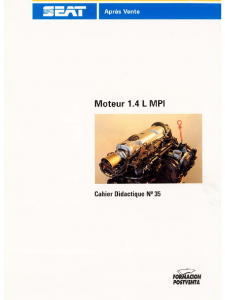 SSP 035 Moteur 1.4 L MP1