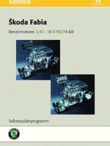 SSP 035 Skoda Fabia – Benzinmotoren 1,4 l - 16 V