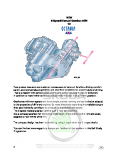 SSP 041 NEW 6-Speed Manual Gearbox 02M for Octavia 4x4