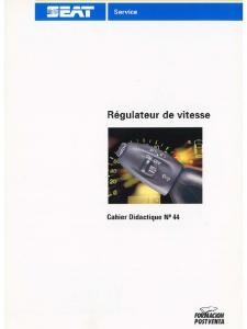 SSP 044 Régulateur de vitesse
