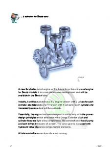 SSP 045 12 3 AWY AZQ cylinder petrol engines