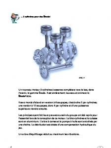 SSP 045 Moteurs à essence trois cylindres 1,2 l