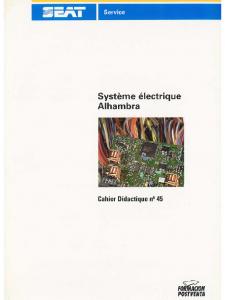 SSP 045 Système électrique Alhambra
