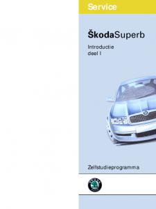 SSP 046 Skoda Superb Introductie deel 1