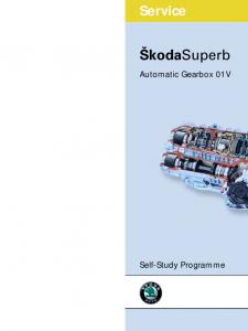 SSP 050 Skoda Superb Automatic Gearbox 01V