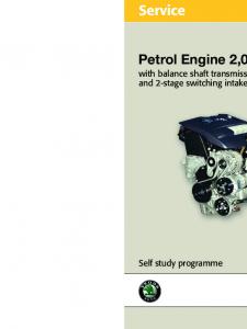 SSP 051 2,0l 85 kW Engine with balance shaft transmission
