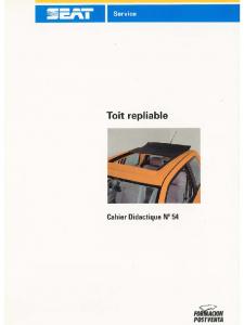 SSP 054 Toit repliable