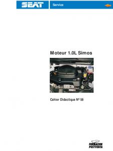 SSP 058 Moteur 10L Simos