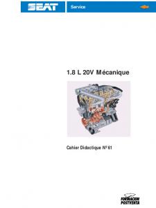 SSP 061 1.8 L 20V Mécanique