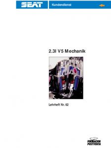 SSP 062 2,3l V5 Mechanik