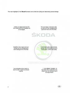 SSP 062 Skoda Roomster Presentation of the vehicle part I