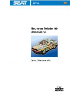 SSP 063 Nouveau Toledo '99 Carrosserie