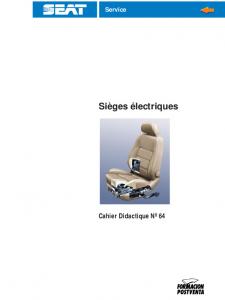 SSP 064 Sièges électriques