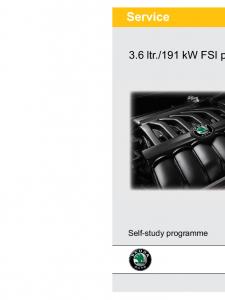 SSP 069 3.6 ltr 191kW FSI