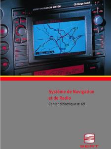 SSP 069 Système de Navigation et de Radio