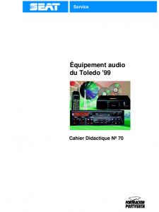 SSP 070 Équipement audio du Toledo 99
