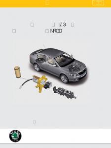 SSP 073 RU Система питания на LPG в автомобилях Шкода