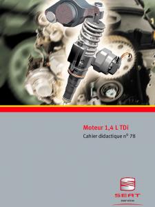 SSP 078 Moteur 1,4 L TDi