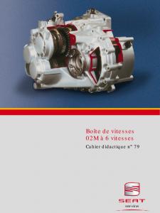 SSP 079 Boîte de vitesses 02M à 6 vitesses