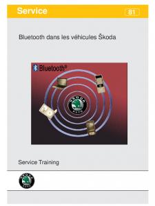 SSP 081 Bluetooth dans les véhicules Škoda
