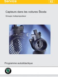 SSP 082 Capteurs dans les voitures Škoda Groupe motopropulseur