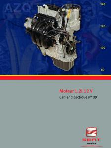 SSP 089 Moteur 1.2l 12V