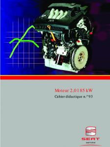 SSP 093 Moteur 2,0 l 85 kW