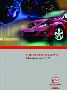 SSP 110 Système électrique Leon 06