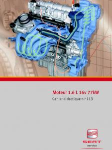 SSP 113 Moteur 1,6 L 16v 77kW