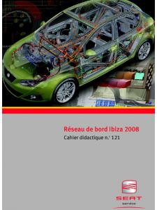 SSP 121 Réseau de bord Ibiza 2008