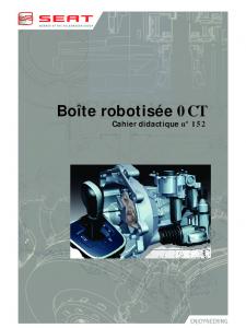 SSP 152 Boîte robotisée 0CT