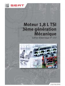 SSP 157 Moteur 1,8 L TSI - 3eme generation Mecanique