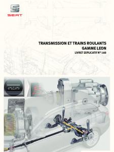 SSP 160 Transmission et trains de la gamme LEON (type 5F)