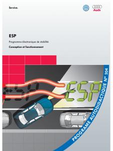 SSP 204 ESP Programme Žlectronique de stabilitŽ