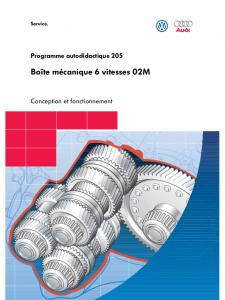 SSP 205 Boîte mécanique 6 vitesses 02M