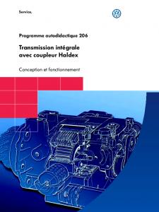 SSP 206 Transmission intégrale avec coupleur Haldex